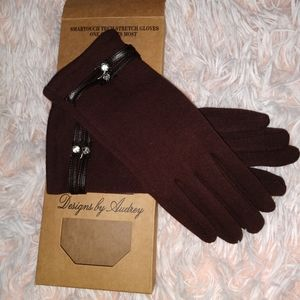 Nwt Smartouch Tech Street Gloves Designs by Audrey